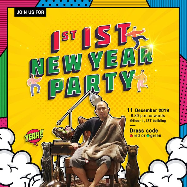 1st IST New Year Party 2020